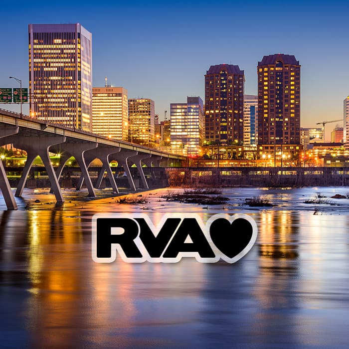 RVA Richmond Virginia Love - Locally Owned and Operated